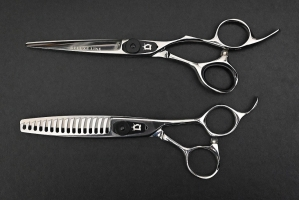 set of cutting and texturizing shears D1 + M1